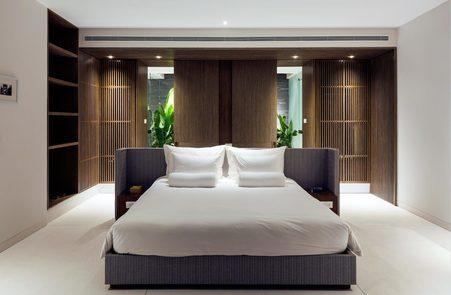 Naman Residences room