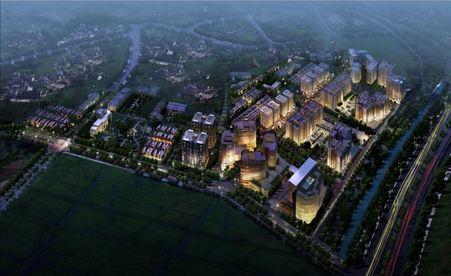 Ha Noi Garden City Canal Park exterior