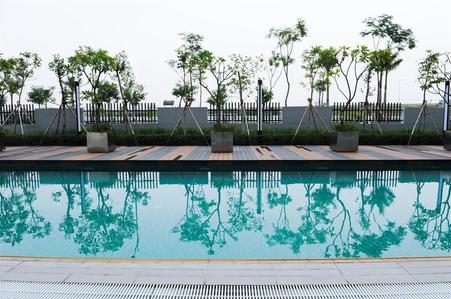 Ha Noi Garden City Canal Park facility
