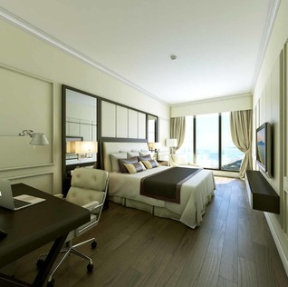 Four Points by Sheraton and Luxury Apartment room