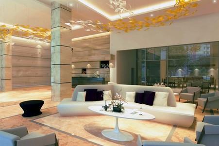 Belmont Luxury Hotel room