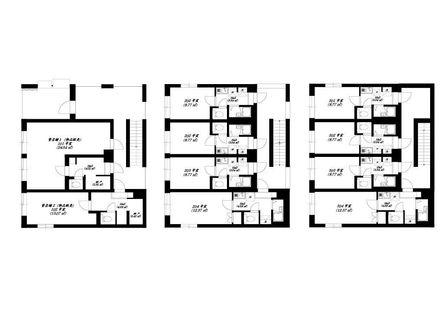 府中市栄町一棟売りアパート layout